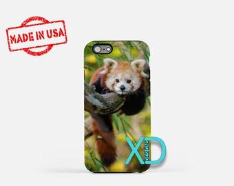 Red Panda iPhone Case, Bear iPhone Case, Panda iPhone 8 Case, iPhone 6s Case, iPhone 7 Case, Phone Case, iPhone X Case, SE Case New