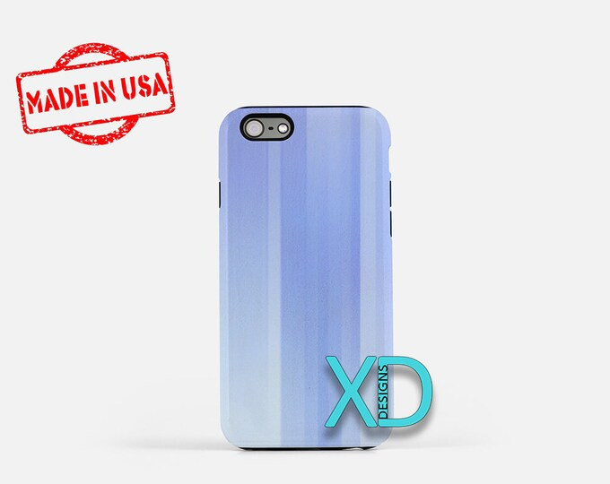 Blue Abstract Line iPhone Case, Blue Abstract iPhone 8 Case, iPhone 6s Case, iPhone 7 Case, Phone Case, iPhone X Case, SE Case Protective