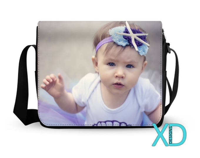 Custom Bag, Custom Messenger Bag, Custom Purse, Photo Purse, Photo Bag, Monogram Purse, Personalized Bag, Custom Made Purse, Gift For Wife