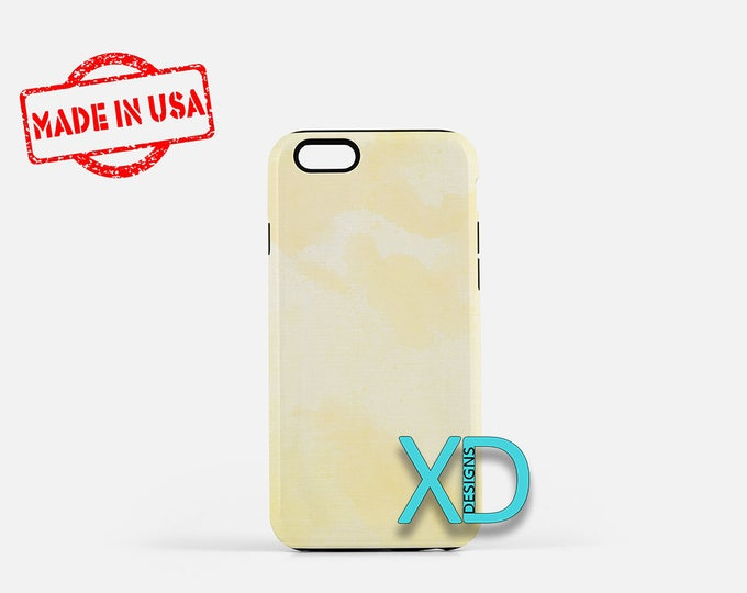 Yellow Watercolor Phone Case, Yellow Watercolor iPhone Case, Artwork iPhone 7 Case, Canary, Artwork iPhone 8 Case, Tough Case, Clear Case