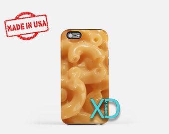 Macaroni iPhone Case, Food iPhone Case, Macaroni iPhone 8 Case, iPhone 6s Case, iPhone 7 Case, Phone Case, iPhone X Case, SE Case