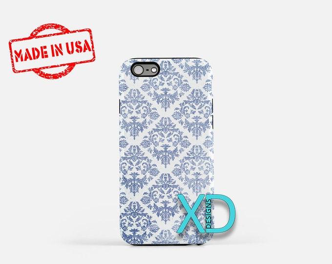 Blue Geometric iPhone Case, Blue iPhone Case, Geometric iPhone 8 Case, iPhone 6s Case, iPhone 7 Case, Phone Case, iPhone X Case, SE Case