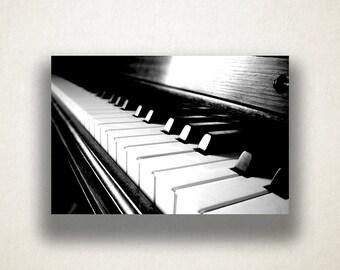 Artistic Piano Canvas Art, Piano Keys Wall Art, Instrument Canvas Print, Music Wall Art, Photograph, Canvas Print, Home Art, Wall Art Canvas