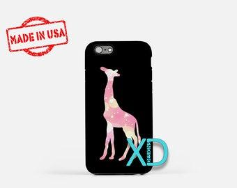 Sparkling Giraffe iPhone Case, Giraffe iPhone Case, iPhone 8 Case, iPhone 6s Case, iPhone 7 Case, Phone Case, iPhone X Case, SE Case