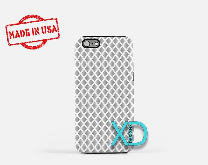 Gradient Phone Case, Gradient iPhone Case, Diamond iPhone 7 Case, Silver, Diamond iPhone 8 Case, Gradient Tough Case, Clear Case, Winter