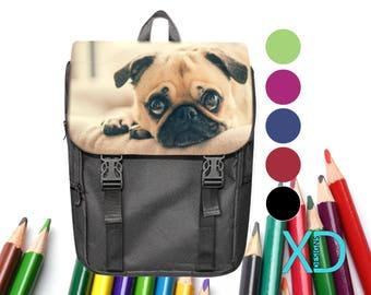 Custom Bookbag, Custom Backpack, 5 Colors, Custom School Bag, Kid's Bag, Personalized Bookbag, Monogram Bookbag, Back To School, Kid Gift