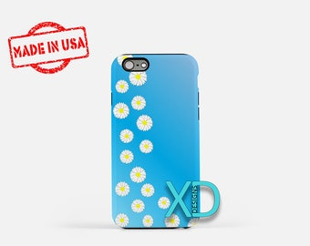 Daisy Floral iPhone Case, Daisy iPhone Case, Daisy iPhone 8 Case, iPhone 6s Case, iPhone 7 Case, Phone Case, iPhone X Case, SE Case  New