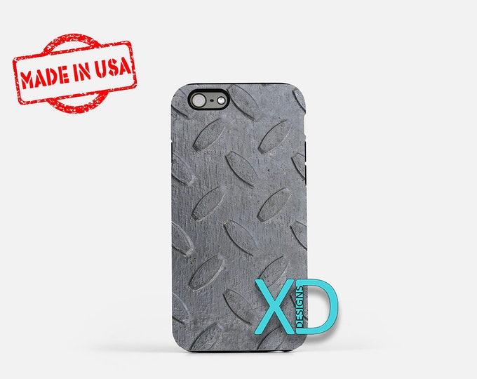 Diamond Plate iPhone Case, iPhone Case, Diamond Plate iPhone 8 Case, iPhone 6s Case, iPhone 7 Case, Phone Case, iPhone X Case, SE Case  New