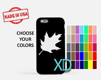 Simple Oak Leaf iPhone Case, Leaf iPhone Case, Oak Leaf iPhone 8 Case, iPhone 6s Case, iPhone 7 Case, Phone Case, iPhone X Case, SE Case