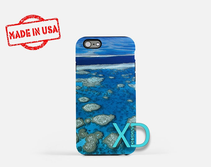 Great Barrier iPhone Case, Reef iPhone Case, Water iPhone 8 Case, Nature, iPhone 6s Case, iPhone 7 Case, Phone Case, iPhone X Case, SE Case