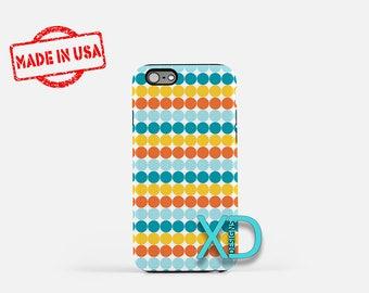Summertime Phone Case, Summertime iPhone Case, Fun iPhone 7 Case, Blue, Orange, Fun iPhone 8 Case, 99 Tough Case, Clear Case, Summer Bash