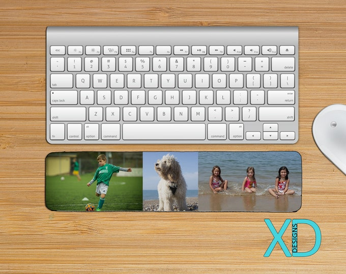 Custom Keyboard Wrist Pad Rest, Photo Wristpad, Computer Accessory, Work Gift, Office Gift Idea, Neoprene, Gift For Teacher, Back To School