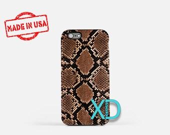 Snake Skin iPhone Case, Reptile iPhone Case, Snake iPhone 8 Case, iPhone 6s Case, iPhone 7 Case, Phone Case, iPhone X Case, SE Case