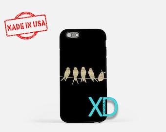 Sheet Music iPhone Case, Bird iPhone Case, Sheet Music iPhone 8 Case, iPhone 6s Case, iPhone 7 Case, Phone Case, iPhone X Case, SE Case