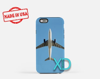 Airplane iPhone Case, Plane iPhone Case, Airplane iPhone 8 Case, iPhone 6s Case, iPhone 7 Case, Phone Case, iPhone X Case, SE Case New