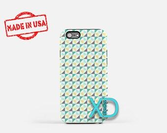 Mint Hourglass Phone Case, Mint Hourglass iPhone Case, Pinwheel iPhone 7 Case, Gray, Pinwheel iPhone 8 Case,  Mint Tough Case, Clear Case