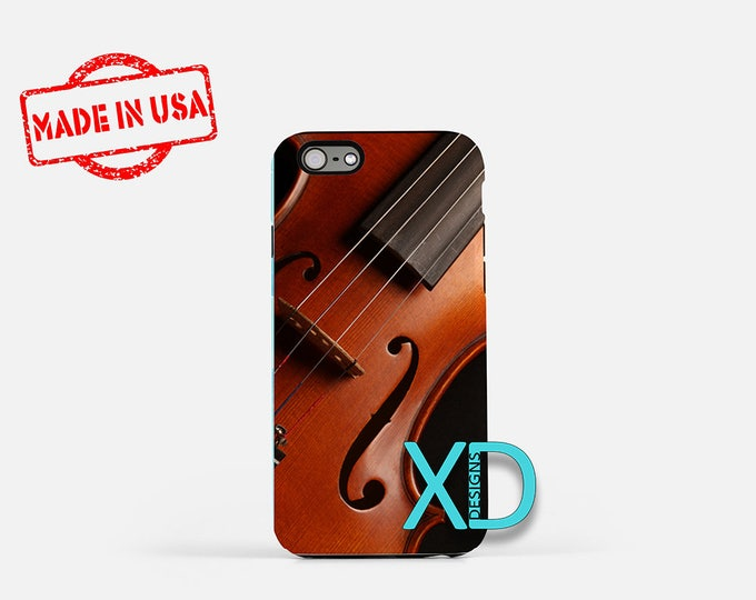 Violin iPhone Case, Instrument iPhone Case, Music iPhone 8 Case, iPhone 6s Case, iPhone 7 Case, Phone Case, iPhone X Case, SE Case New