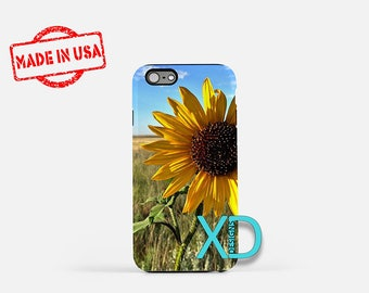 Sunflower iPhone Case, Field iPhone Case, Sunflower iPhone 8 Case, iPhone 6s Case, iPhone 7 Case, Phone Case, iPhone X Case, SE Case New
