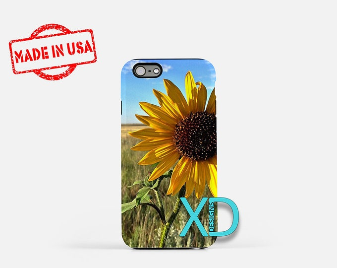 Sunflower iPhone Case, Field iPhone Case, Sunflower iPhone 8 Case, iPhone 6s Case, iPhone 7 Case, Phone Case, iPhone X Case, SE Case New