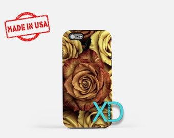 Vintage Rose iPhone Case, Rose iPhone Case, Vintage Rose iPhone 8 Case, iPhone 6s Case, iPhone 7 Case, Phone Case, iPhone X Case, SE Case