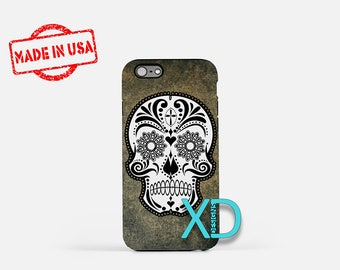 Crazy Skull iPhone Case, Skull iPhone Case, Skull iPhone 8 Case, iPhone 6s Case, iPhone 7 Case, Phone Case, iPhone X Case, SE Case