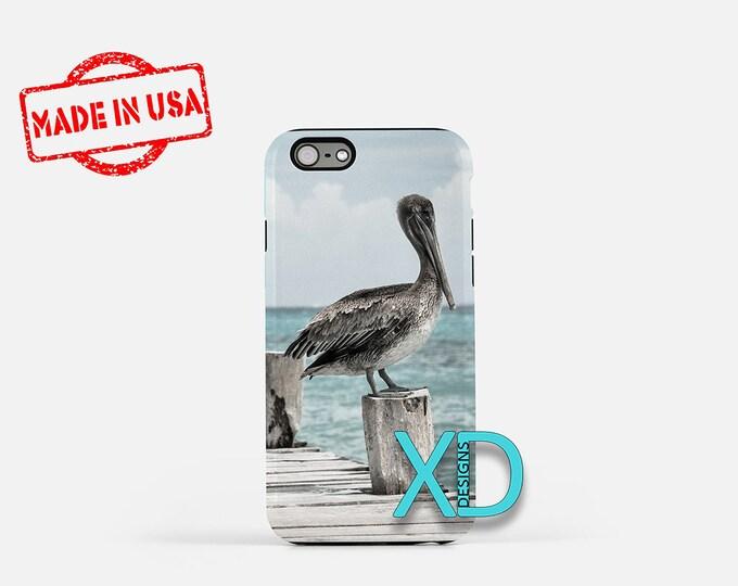 Pelican iPhone Case, Sea Wharf iPhone Case, Dock iPhone 8 Case, Nature, iPhone 6s Case, iPhone 7 Case, Phone Case, iPhone X Case, SE Case