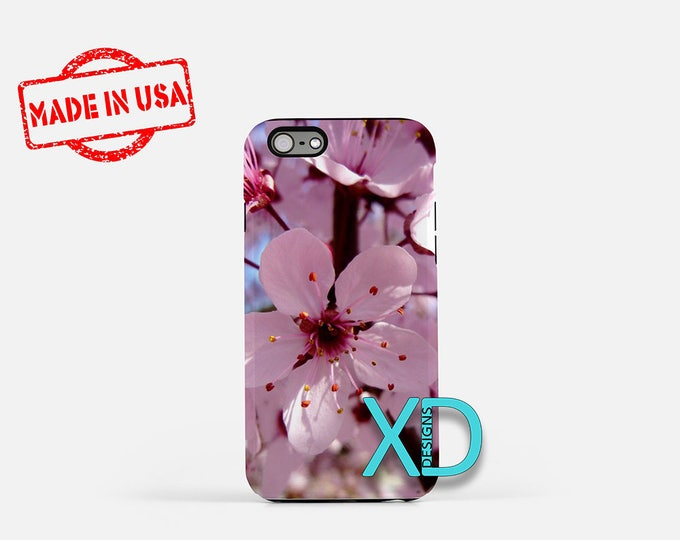 Cherry Blossom iPhone Case, Pink iPhone Case, iPhone 8 Case, iPhone 6s Case, iPhone 7 Case, Phone Case, iPhone X Case, SE Case Protective