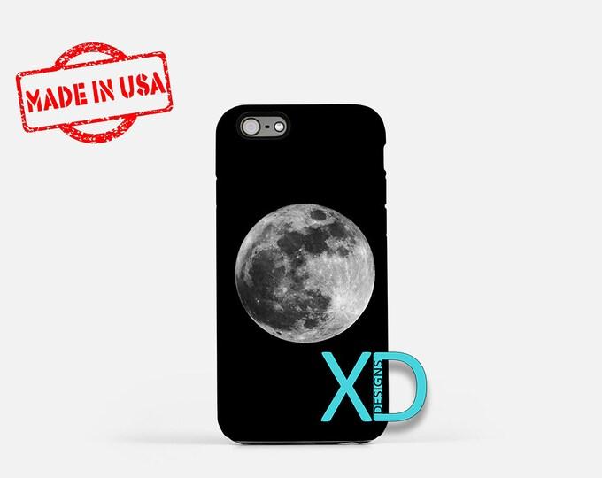 Full Moon iPhone Case, Super Moon iPhone Case, Space iPhone 8 Case, iPhone 6s Case, iPhone 7 Case, Phone Case, iPhone X Case, SE Case