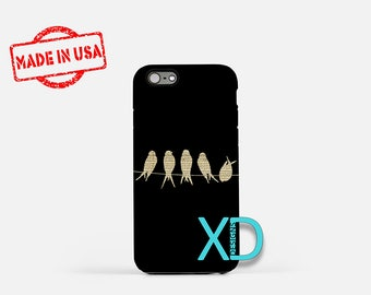 Sheet Music iPhone Case, Bird iPhone Case, Sheet Music iPhone 8 Case, iPhone 6s Case, iPhone 7 Case, Phone Case, iPhone X Case, SE Case