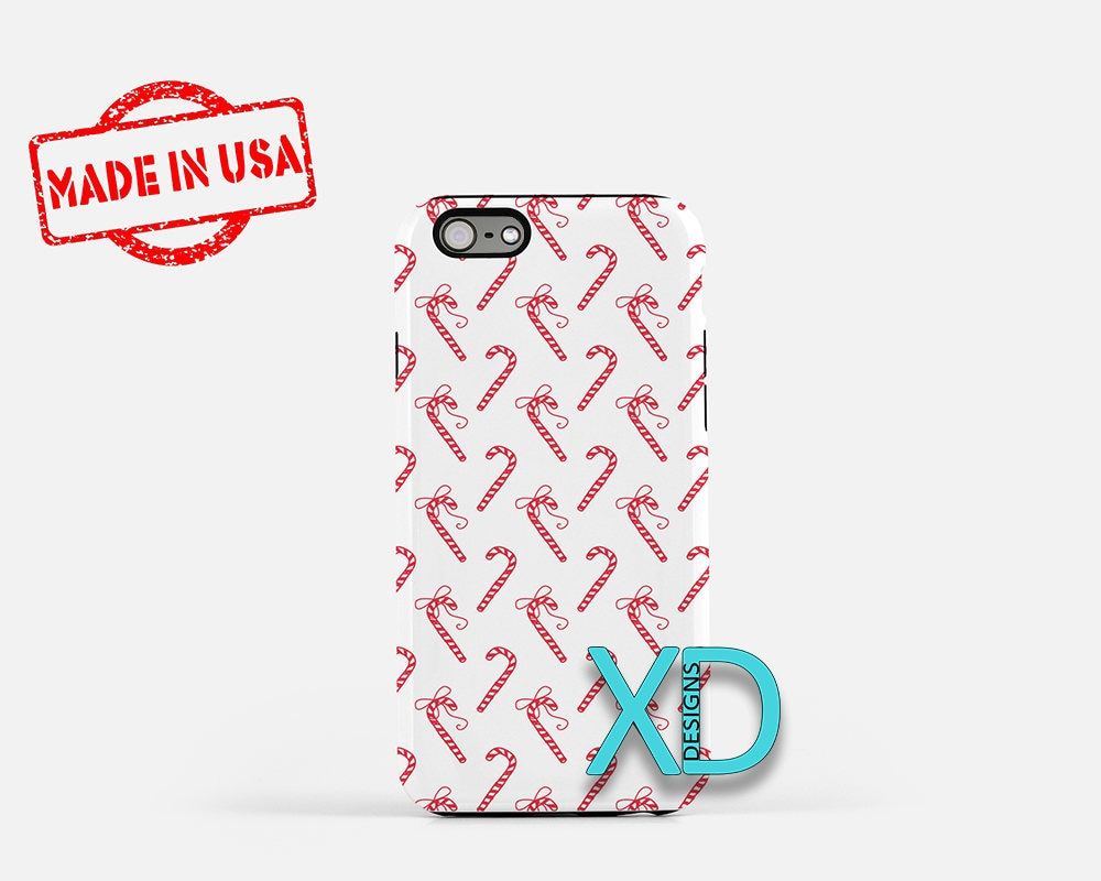 Candy Cane Phone Case, Candy Cane iPhone Case, Christmas iPhone 7 ...