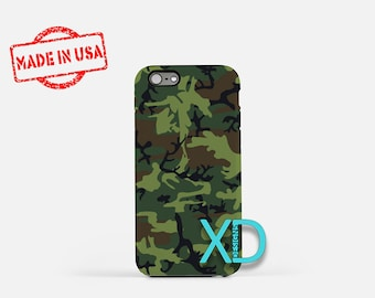 BDU Camo iPhone Case, Army Camo iPhone Case, Army Camo iPhone 8 Case, iPhone 6s Case, iPhone 7 Case, Phone Case, iPhone X Case, SE Case
