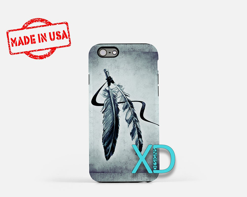 Feather Iphone Case Native American Iphone Case Feather Iphone