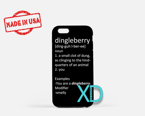 Dingleberry iPhone Case Funny iPhone Case Dirty Insult  128f3305ffa3