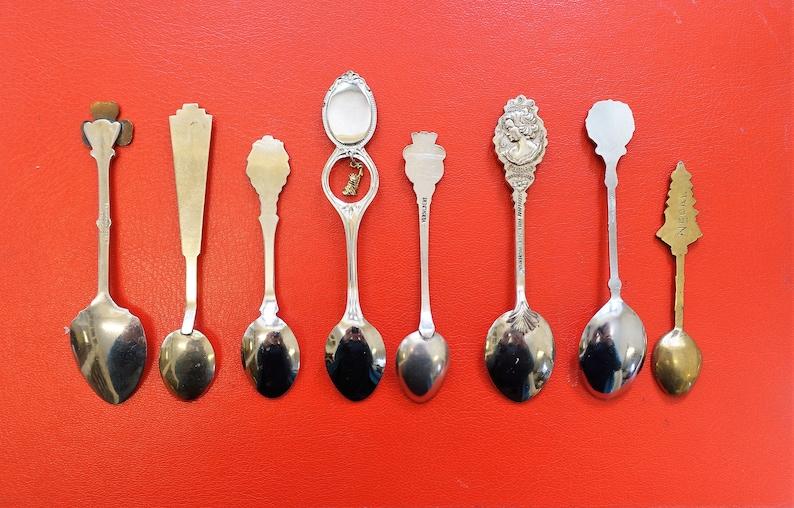 Vintage Souvenir Crested Spoons