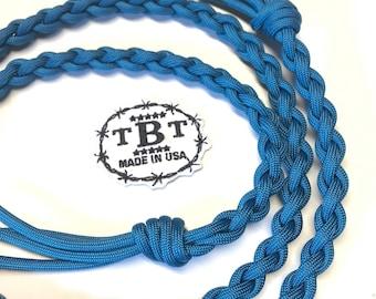 Goat tying string Caribbean Blue