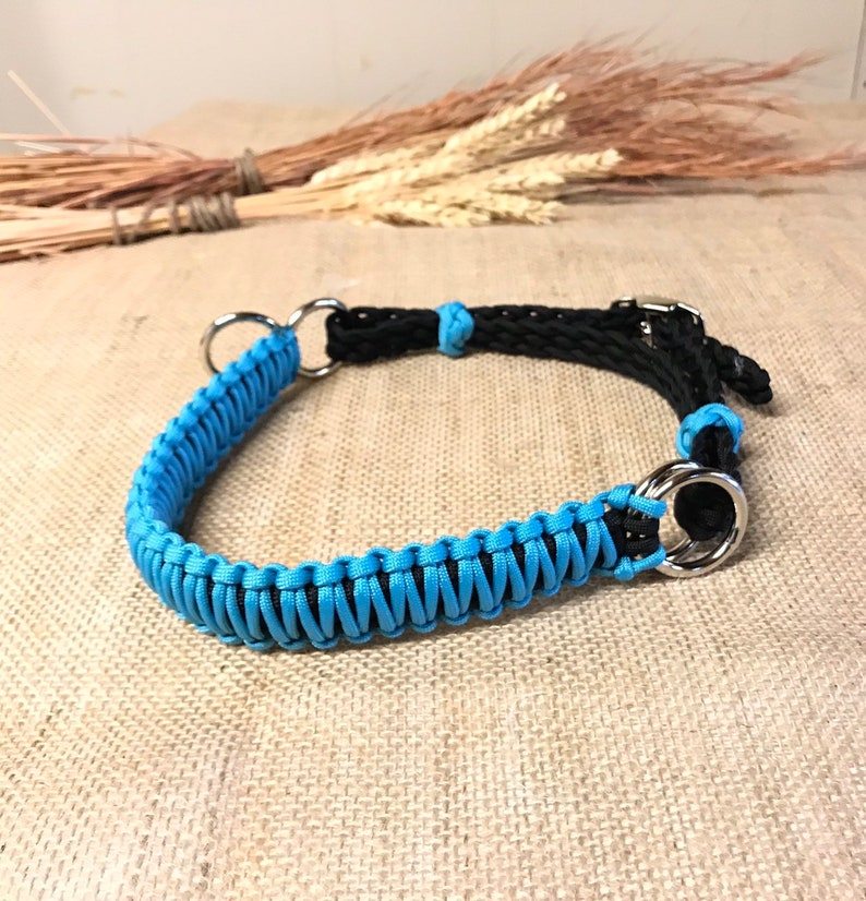 mini to draft Side pull hackamore  turquoise ...black or brown chinstrap..