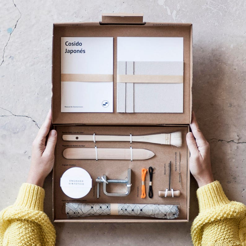 Bookbinding Kit: Japanese Sewing image 0