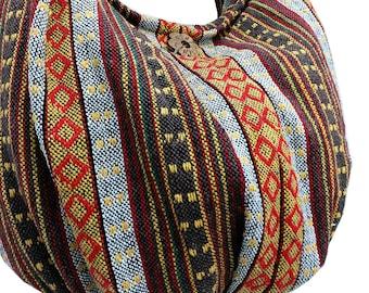 Thai Woven Bag Handbags Purse Tote Cotton Bag Hippie bag Hobo bag Boho Crossbody bag Shoulder bag Women bag Short & Long Strap (WF6)