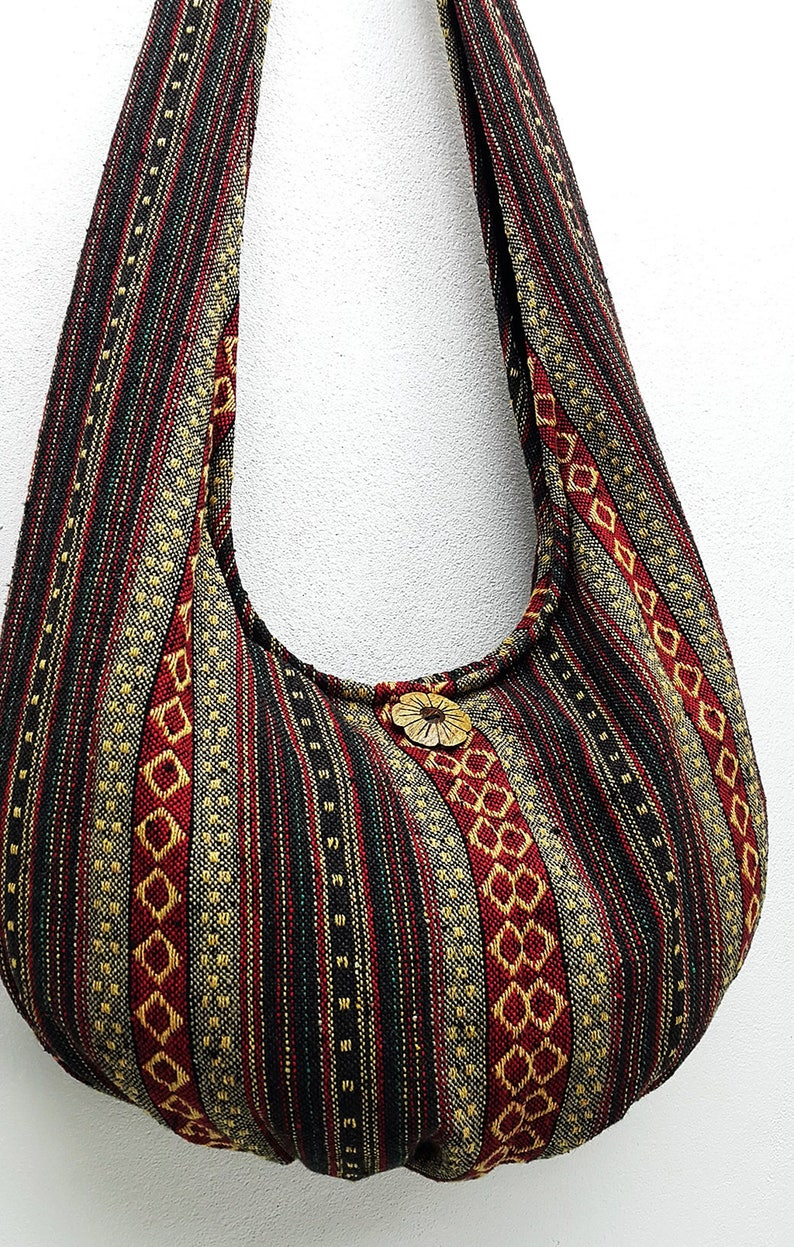 Woven Cotton Bag Hippie bag Hobo bag Boho bag Shoulder bag  8fd93bbf02d23