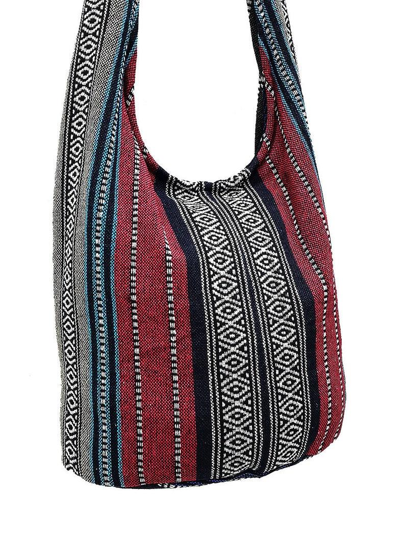 807e9d101029 Woven Cotton Bag Hippie bag Hobo Boho bag Shoulder bag Sling