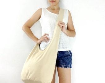 Handbags Canvas Bag Cotton bag Shoulder bag Sling bag Hobo bag Boho bag Messenger bag Tote bag Crossbody bag Purse Cream