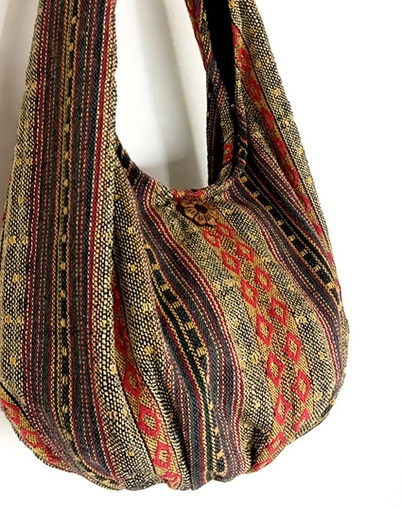 Thai Woven Bag Handbags Purse Tote Cotton Bag Hippie bag Hobo image 0