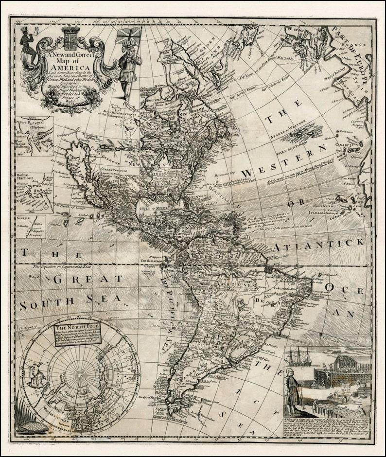 Antique Map Of World.Map World Map Antique World Map World Map Poster Old World Etsy