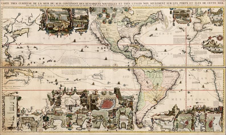 World Map Print Old Maps World Globe Ancient Map Old World Etsy