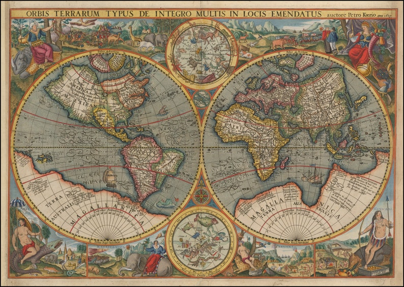 North America, Ancient maps, Atlas, Ancient map, Map of the ...