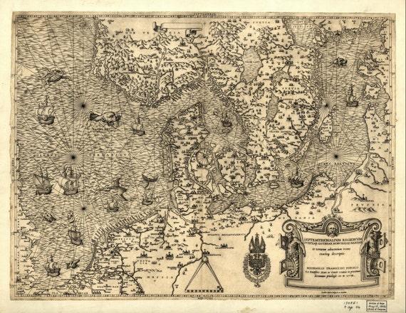 Alte Karten Welt Karte Drucken Weltkarte 138 Etsy
