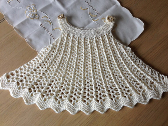 Crochet Pattern For Dress Tunic Top Baby Girl Dress Or Top Etsy