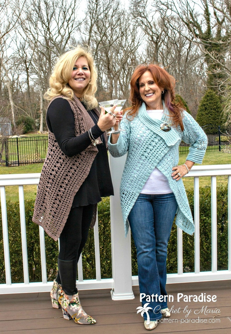 09d609055df91 Crochet Pattern for My Favorite Cardi Sweater Cardigan Vest