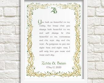 Celtic Wedding Vow Etsy