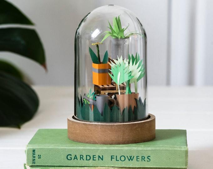 DIY paper plants craft kit - no tools